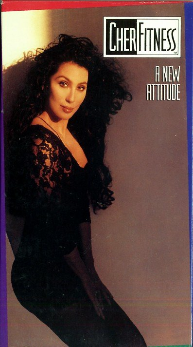 Cher Fitness A New Attitude Step Aerobic Exercise Workout VHS Video Tape