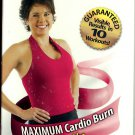 FIRM Maximum Cardio Burn Plus Abs Body Sculpting System 2 Exercise Workout VHS Video NEW