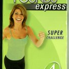Leslie Sansone Walk Away the Pounds Express 4 Mile Super Challenge Exercise Video VHS