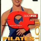 Quick Fix Total Pilates Workout VHS Exercise Video Tape