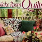 Make Room for Quilts Nancy Martin Decorating Ideas quilting pattern softcover book