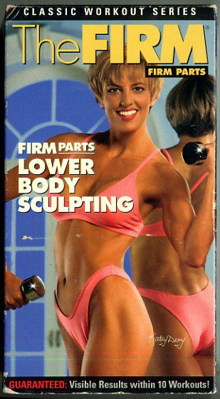 FIRM Parts Classic Series: Lower Body Sculpting VHS Aerobic Exercise Video Tape