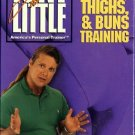 Tony Little Cardio Hips, Thighs, and Buns Training Exercise Workout Video VHS New