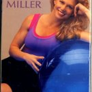 Flexaball Workout with Gin Miller Tone Trim Tighten Exercise Ball Workout Video VHS New