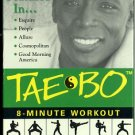 Tae-Bo 8-Minute Workout Billy Blanks Kickboxing Aerobic Exercise Video VHS