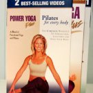 Denise Austin 2-Video Set: Power Yoga Plus and Pilates for Every Body, VHS Exercise Workout Tapes