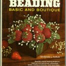 Beading Basic and Boutique Barbara Farlie Vintage 1971 How to Bead Craft Book
