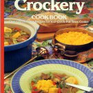 Sunset Crockery Cook Book Vintage 1992 Crockpot Recipes Cookbook