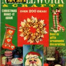 McCalls Needlework Crafts Vintage Winter 77 1977 Christmas Make It Magazine Issue