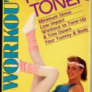 Official 29-Minute Tummy Toner Abdominal Exercise Routine Workout VHS Vintage Video Tape
