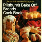 Pillsbury's Bake Off Breads Cook Book Vintage 1968 Yeast and Quick Bread Baking Cookbook