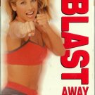 Denise Austin Blast Away 10 Lbs Kickboxing + Interval Aerobic Toning Exercise Workout Video VHS