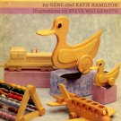 Wooden Toys Gene and Katie Hamilton Wood Craft Project Instruction Book hc+dj