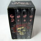 Grateful Dead Limited Edition Box 4 VHS Video Set Jerry Garcia Vintage Rock Music Concert Tapes