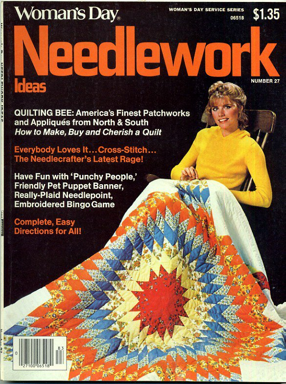 Womans Day Needlework Ideas Sept 78 1978 Number 27 Vintage Needlecraft Magazine