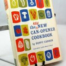 New New Can Opener Cookbook Poppy Cannon vintage 60s cook book hc+dj