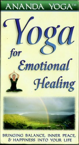 Yoga for Emotional Healing Lisa Powers Ananda Yoga Meditation Video VHS
