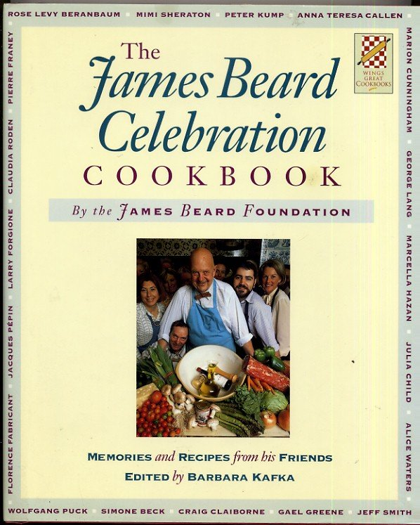 James Beard Celebration Cookbook Memoir 225 Recipes Famous Chef Tribute hc+dj