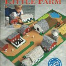 Plastic Canvas Little Farm Needlecraft Shop Pattern Book childrens toy model barn silo farmhouse etc