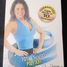 FIRM Total Sculpt Plus Abs Body Sculpting System 2 Exercise Workout VHS Video NEW