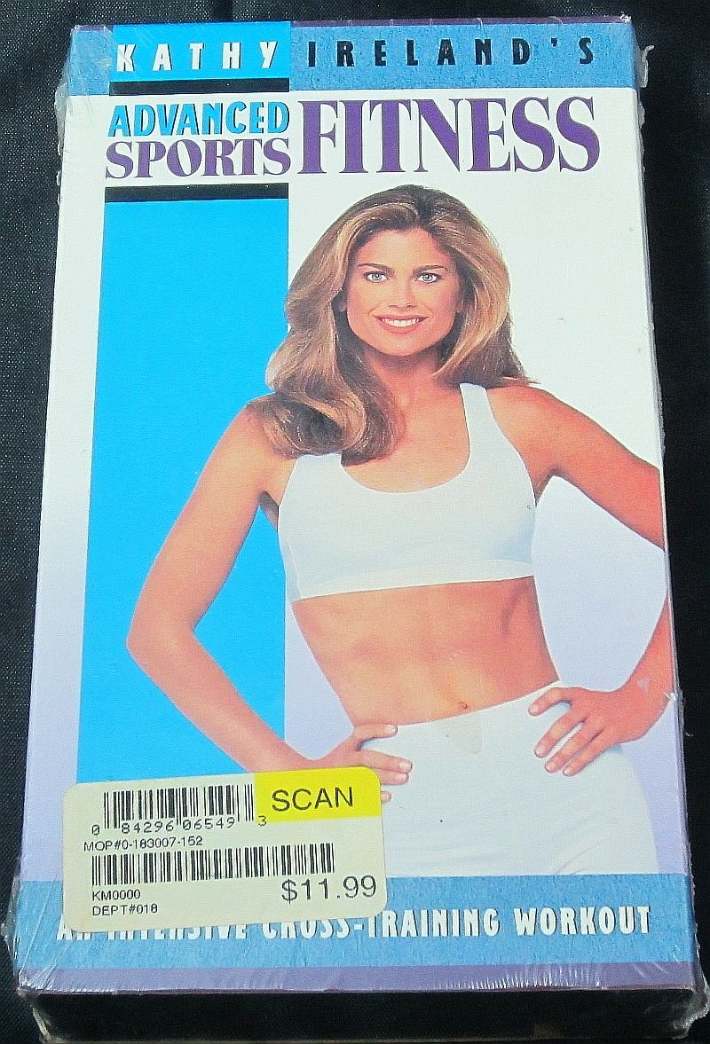 Kathy Ireland Advanced Sports Fitness Plyometric Workout Exercise Video VHS NEW