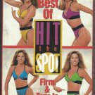Denise Austin Best of Hit the Spot Complete Body Toning Exercise Workout Video VHS Tape