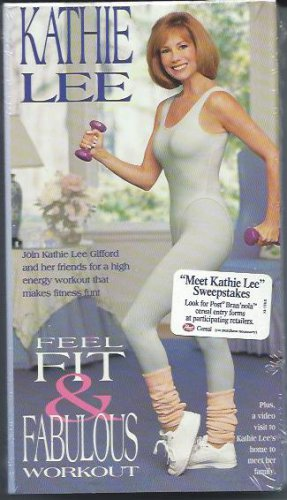 Feel Fit and Fabulous Workout Kathie Lee Gifford Exercise Video VHS Tape NEW