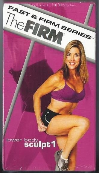 FIRM Lower Body Sculpt I Sculpting System VHS Exercise Video Tape NEW