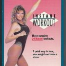 Kathy Smith Instant Workout VHS Stretch Muscle Tone Aerobic Exercise Video VHS Tape