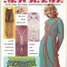 McCalls Macrame Instruction Magazine Vintage 1970s Pattern Book
