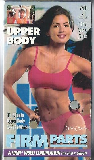 FIRM Parts Upper Body 30-Minute Weight Work Exercise Workout Video VHS