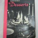 Sunset Cook Book of Desserts Vintage 1963 Hardcover + Dust Jacket 1st printing
