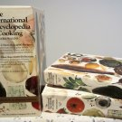 International Encyclopedia of Cooking Myra Waldo Vintage 1967 Cookbook Set vol 1+2
