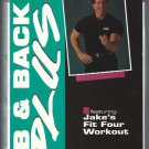 Body By Jake Ab and Back Plus Instructional Workout Exercise Video VHS