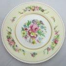 Vintage Floral Plate Simpsons Potters Argyll Ambassador Ware England