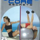 Gunnar Peterson's Core Secrets 25 Minute Full Body Workout DVD New