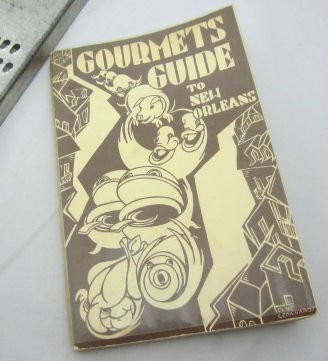 Gourmet's Guide to New Orleans Caroline Merrick Jones Vintage Creole Cajun Cookbook