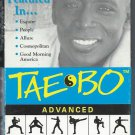 Tae Bo Advanced Workout Billy Blanks VHS Exercise Video TaeBo Tape
