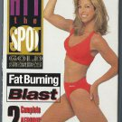 Denise Austin Fat Burning Blast Hit the Spot Gold Aerobic Exercise Video VHS
