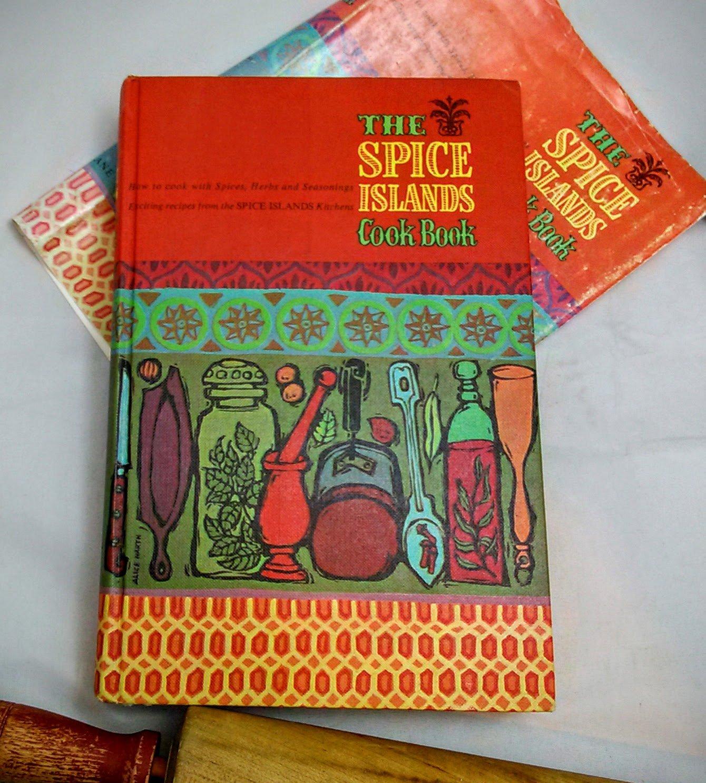 Spice Islands Cook Book Vintage 1961 Cookbook 1st Ed 1st Ptg hc+dj