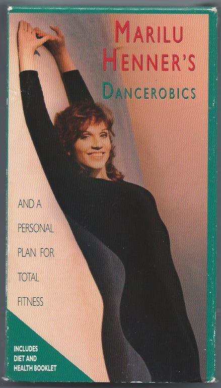 Dancerobics Marilu Henner Aerobic Exercise Fitness Workout Video VHS