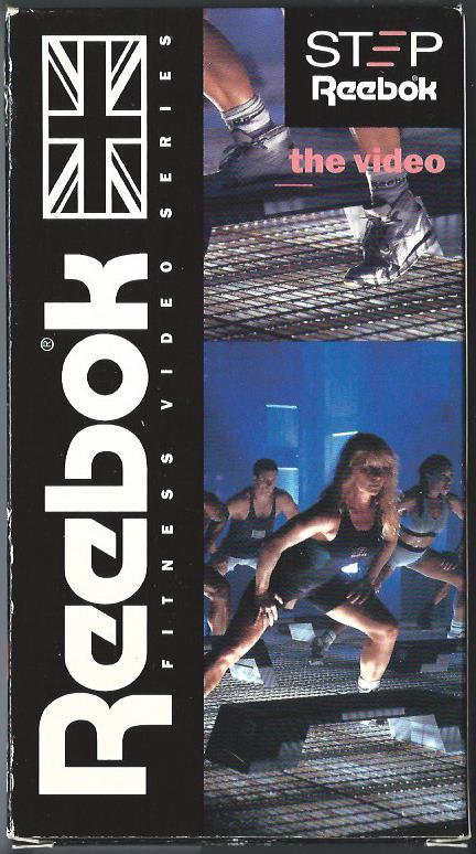 78d52a55304 Step Reebok The Video VHS Aerobic Exercise Tape Gin Miller