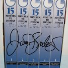 15 Minutes to Fitness with Jaime Brenkus 5 VHS Exercise Video Set