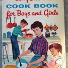Betty Crocker's Cook Book for Boys and Girls 1957 First Edition 4th Ptg
