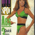 Denise Austin Hit the Spot Abs 3 Tummy Tightening Workouts VHS Exercise Video NEW