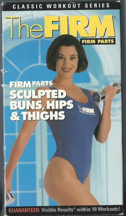 FIRM Sculpted Buns Hips & Thighs Floor Workout Tracie Long Video VHS Tape