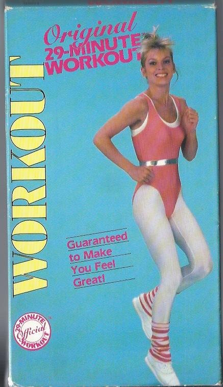 Original 29 Minute Workout Aerobic Exercise Vintage Video VHS