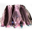 Black and pink star dress up dance skirt tutu