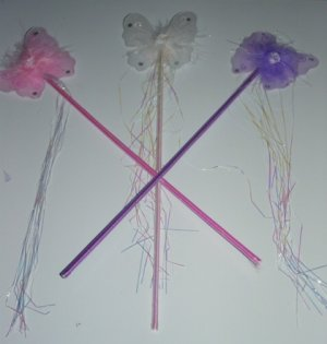 Butterfly wands