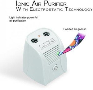BRIGHT Ionic Air Purifier with Electrostatic